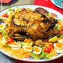 丸鶏でローストチキンに挑戦! 〜スパイスでお料理上手 手軽に!豪華に!年末年始のパーティーレシピ