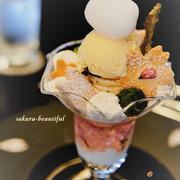 トシ ヨロイヅカで桜パフェを♡『Toshi Yoroizuka TOKYO』