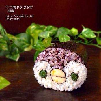 親子デコ巻き寿司づくりのご案内