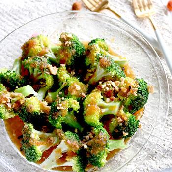 ほくほくしっとり♪ブロッコリーのまる生おろしぽん酢サラダ