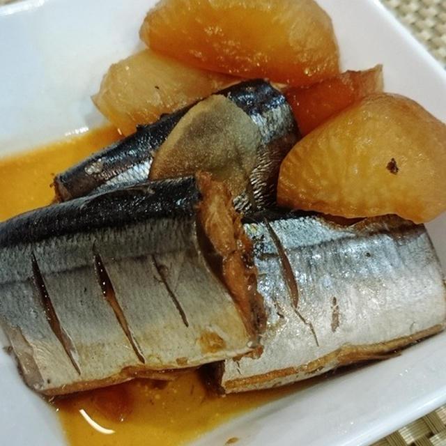 秋刀魚の生姜煮と、塩麹り出汁巻き玉子♪