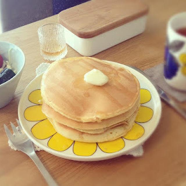 ・・・甘麹パンケーキ・・・