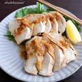 【レンジで6分】鶏胸肉がしっとり*蒸し鶏のさっぱりネギ酢醤油