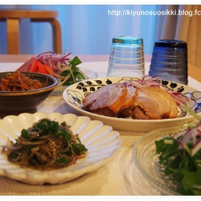 和×北欧食器で簡単夜ごはんとファミリーセール。
