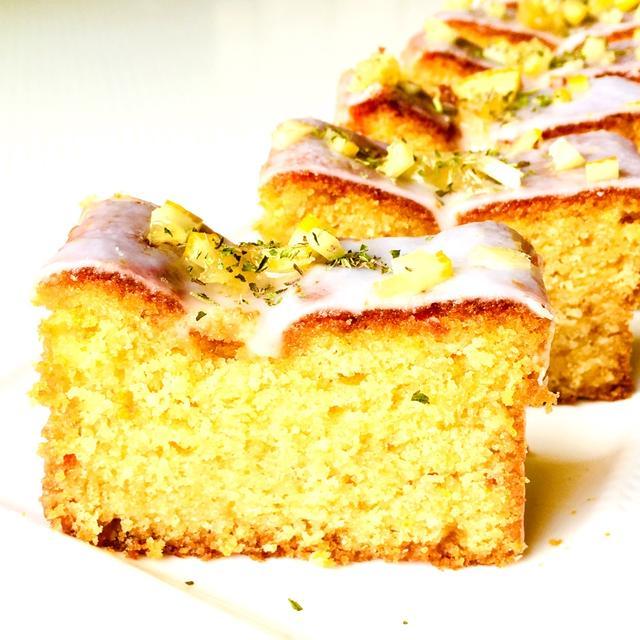 おうちカフェ楽しもう♪スタバ風レモンケーキ♡