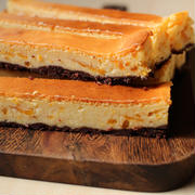 金柑マーマーレードのスティックチーズケーキ