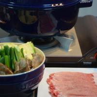 ストウブで「ごま担々鍋」PREMIUM鍋