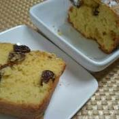 シナモンレーズンパウンドケーキ