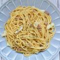 本みりん・料理のための清酒で作る *ひき肉とキャベツの味噌パスタ*