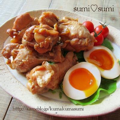 黄金比率♥鶏手羽のマーマレード煮♥しみっしみ味煮卵