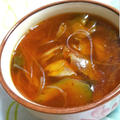 あつあつ☆キムチ春雨スープ