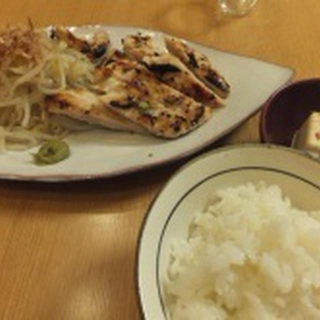 イカと鶏の塩麹漬け