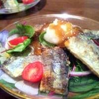 秋刀魚のジュレポン酢サラダ(ハーブ・タイム使用)