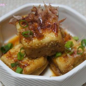 胡麻揚げ焼き豆腐