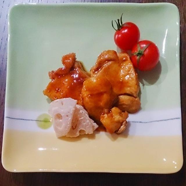 鶏胸肉でメープル醤油煮。と、血と涙のマラソン大会。