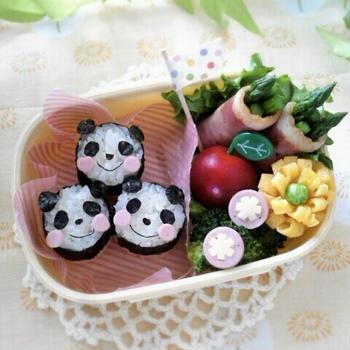 キャラ弁日記☆私がパンダを作ると…弁当&息子は…○○系w