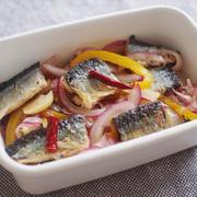 秋刀魚のエスカベッシュ(レシピ:平井遥)