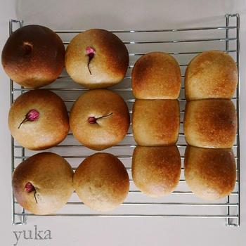 黒糖あんパン*ライ麦ルヴァン種