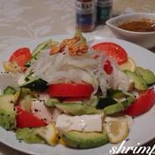 タイ風お豆腐サラダ