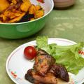 5月レシピブログキッチン♪ ブリの大葉にんにく甘酢浸し。の晩ご飯。