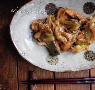 【ご飯が進む魚料理】鮭の甘辛炒め