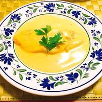 【レシピ】白身魚のサフランクリームソース。