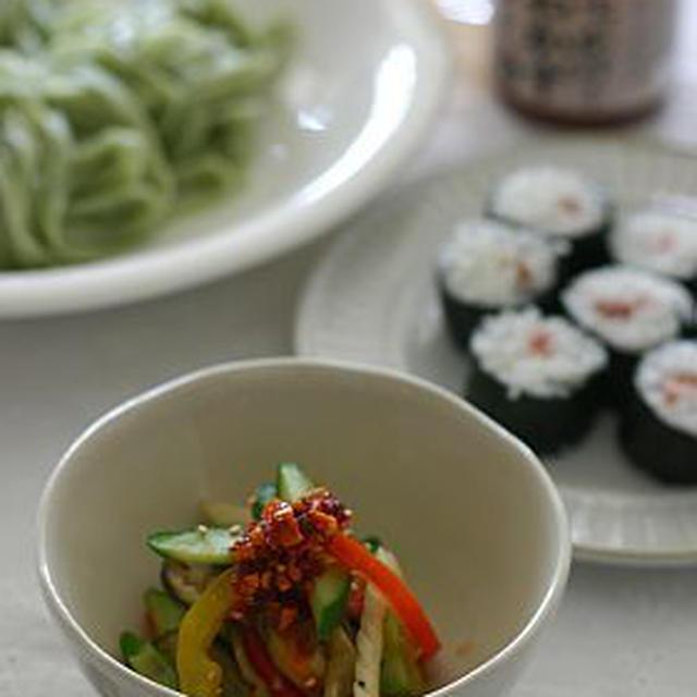 夏野菜のいり煮