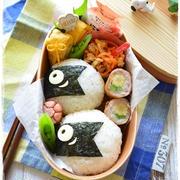 簡単☆こいのぼりのおにぎり弁当~女子高校生のおべんとう♪