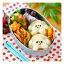 おサルさんおにぎり弁当♪鶏ポテ和風ナゲットレシピも♪ by chiho