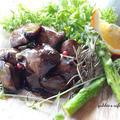 鶏レバーのバルサミコ酢仕立てフォアグラ風