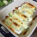 長ネギとしらすのチーズ焼き