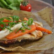 節約!レンジで簡単!鮭の味噌マヨ包み