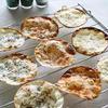 ハーブの香りのパリパリPizza