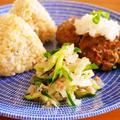 缶詰で常備菜レシピ!きゅうりのツナ和えと鯖つくねで朝ごはんワンプレート by みぃさん
