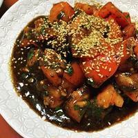ごはんがすすむトマト(トマトの海苔佃煮和え)