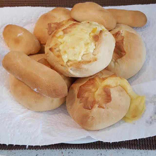 発酵なし‼簡単手作りパン♪