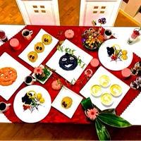 お花と料理でル楽しむ♪『ハロウィンのテーブル』〜ハッピーハロウィン♪〜