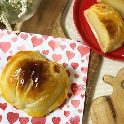 簡単煮りんごで*丸ごとアップルパイ
