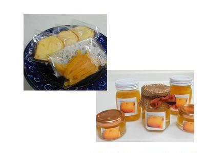 オレンジピール&パウンドケーキ