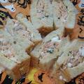 【レシピブログより】生秋鮭を食べよう!鮭とバジルのたまごサンド