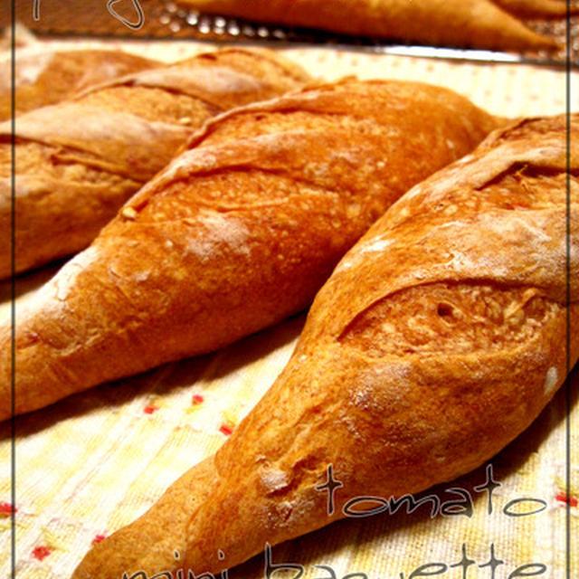 トマトの本格フランスパン(パートフェルメンテ法)