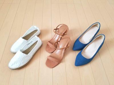 夏の靴はコレ! by 森崎りよさん