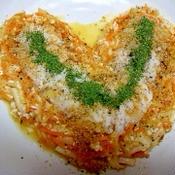 生じゃが長芋新生姜のオレンジ味噌ナムル丼