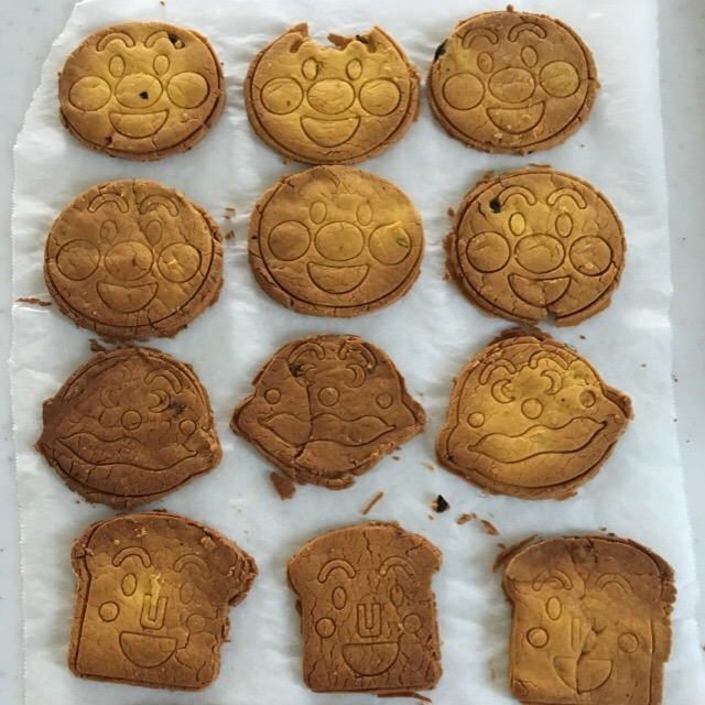 6. 大豆粉入り かぼちゃクッキー