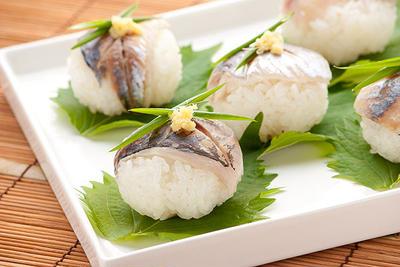 あじのさっぱり寿司
