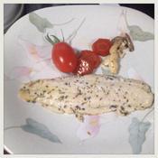 白身魚のバジル焼き