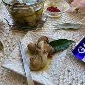 牡蠣のバルサミコオイル漬け