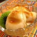 豆腐白玉の蜂蜜きな粉パフェ。°