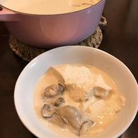 手軽に作れて滋味深い「牡蠣の白スンドゥブ」。