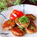 【レシピ・副菜】焼肉のタレだけで簡単♪もちもち大根餅♡